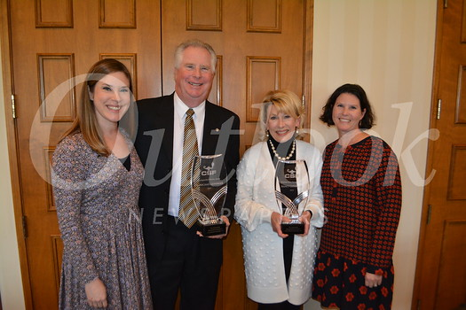 Mike and Nancy Leininger, and Anne Collins and Carrie King