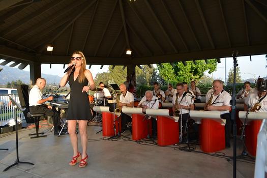 The Jack Lantz Big Band with soloist Susan Kay Wyatt
