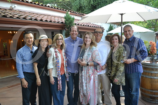Peter and Helen Kim, Gayle Penrod and Mike Galper, Danielle and Sam Gay, and Heidi and Tim Sandoval
