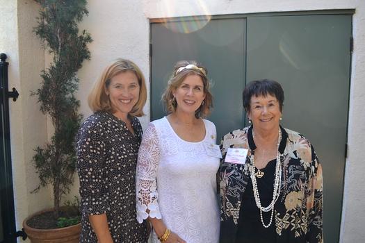 President Jill Chapman, event chair Brenda Gant and founder Jane Napier Neely