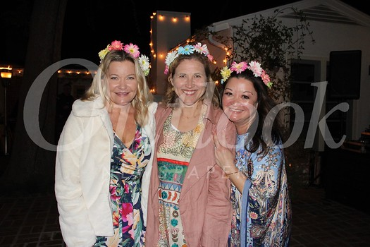 Event host Gillan Frame, LCJWC President Jill Chapman and event chair Nikki Bednar
