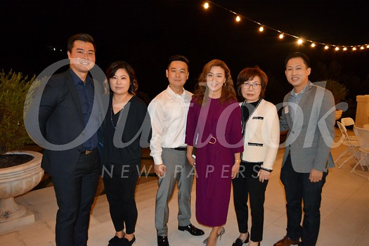 Jonah and Ruth Lee, Ben and Rebekah Park, Yun Park and David Kim