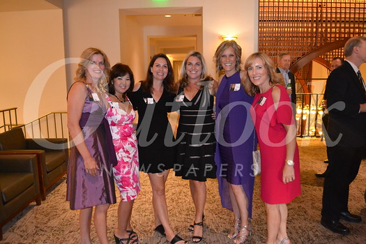 Reunion committee members Sherry Plowman, Jennifer Kobayashi Westerlund, Andrea Chambliss, Christy Carr, Kathleen Day and Tricia Nigra