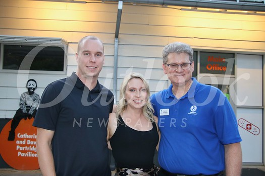Kevin and Kate Kohorst with Kidspace CEO Michael Shanklin