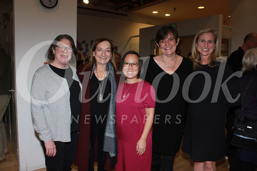 Katharine Harrington, Gale Kohl, Executive Director Leslie Ito, Linda Burrow and Tammy Godley