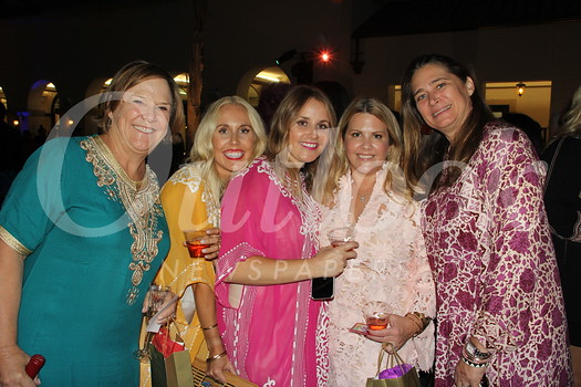 Meg Symes, Olivia Romero, Deveny Spafford, Pamela Halferty and Lyn Salembier