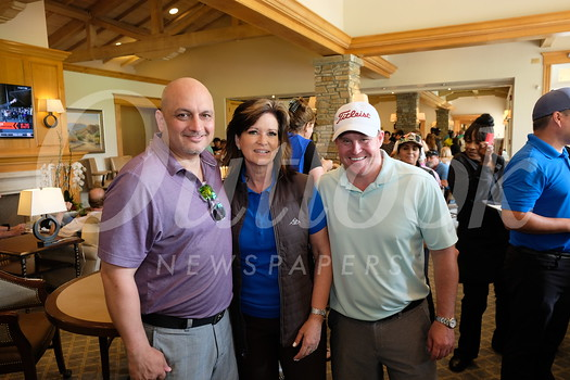Todd Mokhtari, NBC4 anchor and event host Colleen Williams and Chris Dolan