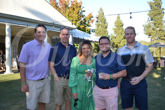Matt Perrigue, Kevin Kohorst, Julie and Kyle Beswick, and Matt Kohorst