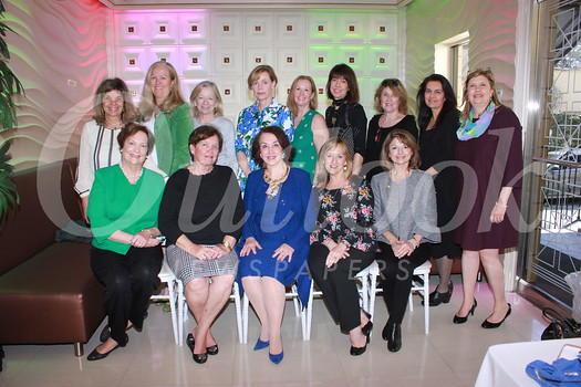 Christ Child Society provisional members include (front row, from left) Nancy Twist, Christine Dietrich, Gloria de Olarte, Maria Sarry and Agnes Centurioni-Daws. Back: Tracy Slater, Colleen Welsh, Mimi Butler, Sara Nowak, Carolyn Seitz, Laurie Yockey, Diane Collison, Eileen Milnes-Collins and Cheryl Newell.