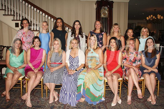 Board members include (front row, from left) Debbie Barsom, Hayley Boaz, Kate Kohorst, President Claire Marco, Emily Viola, Judy Lin-Young, Nicole Moreau and Connie Rubke. Back: Emily Karlekar, Eleanor Richardson, Neha Jespersen, Leslie Lopez, Amy Hasquet, Eryn Kalavsky, Amy Lee and Brandi Mathisen.