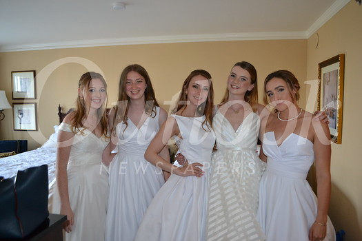 Ellie Holdsworth, Lauren Goedde, Sarah Fay, Lizzy Shepherd and Grace Carey