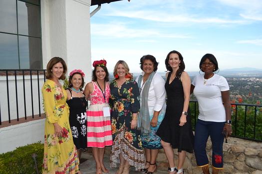 Fiesta committee members Melina Pyle, Annie Rosenberger, Lisa Coontz, Karen Peterson, Carolyne Keeler, Aggie Malolepszy and Barbara Aguirre