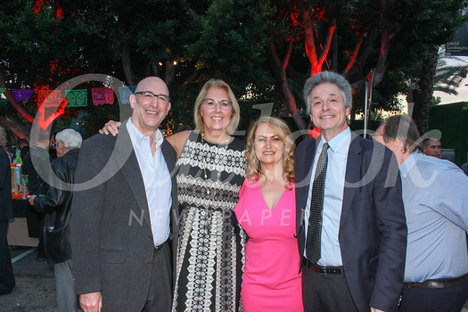 Robbin Cohen, Dr. Lori Morgan, Amal Obaid-Schmid and Jonathan Maskin
