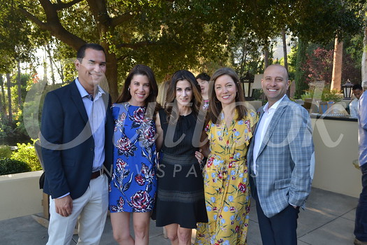 Ryan and Heather Rivera, Tasia Filippatos and Sarah and Carl Weinstein