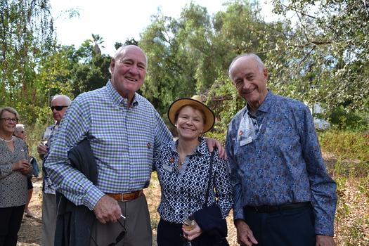 Don Weir, Joni Topper and John Dewitt