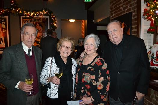 Jim and Jean Keatley with Ida and John Hitchcock