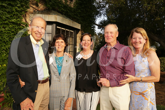 Aaron and Valerie Weiss, CEO Dia DuVernet, and hosts Dr. Richard and Kathleen Diehl