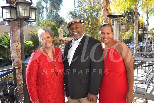 Cookie Myers with Dr. Gene and Dana Albright