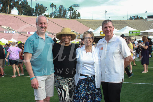 Rob Levy, Maxine Harris, Anne Miskey and Jim Moore