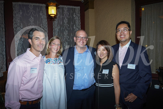 Rob and Chelsey Page, Bryan Cook, and Tracy and Peter Kao