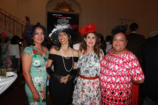 Monica Perez, Ana Ulick, Evy Bridge and Claudie Kiti Bustamante