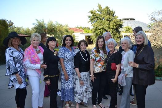 Ileana Cataldo, Valerie Foster Hoffman, Gayle Garner Roski, Colleen Evans, Karen Lawrence, Terri Kohl, Susan Chandler, Erica Van Pelt and Signe Keller