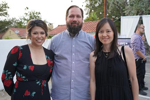 Melanie Pendergast, Robert Boyman and Eliz Lee