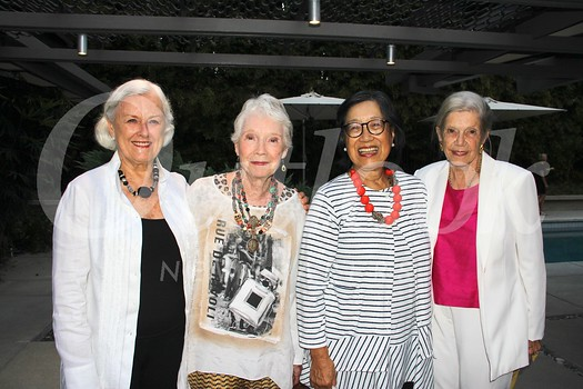 Judy Whiting, Marsha Bohr, Jetty Fong and Hildegard Lindsay