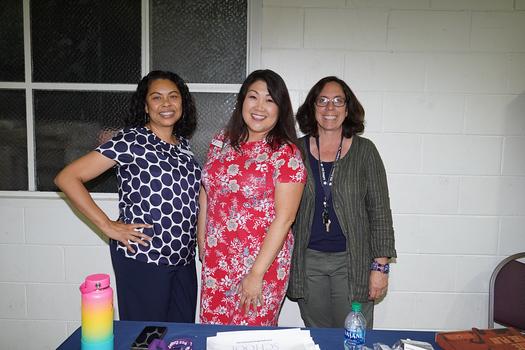 Pasadena Christian School: Monica Smith, Betty St. Peter and Lisa Blanc
