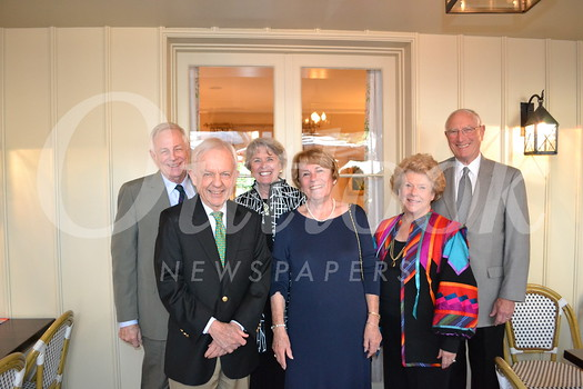 Steve and Stephanie Tyler (front row, from left) with Sharla Durant. Back: Rufus and Gretchen Rhoades, and Dick Durant.