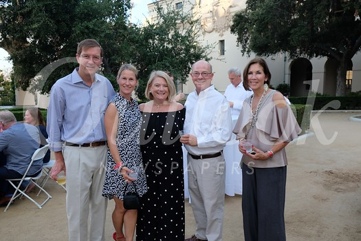 Colin and Megan Barr, Cinty Kepner, Pasadena Symphony and Pops Board President Ray Kepner and Melinda Emery
