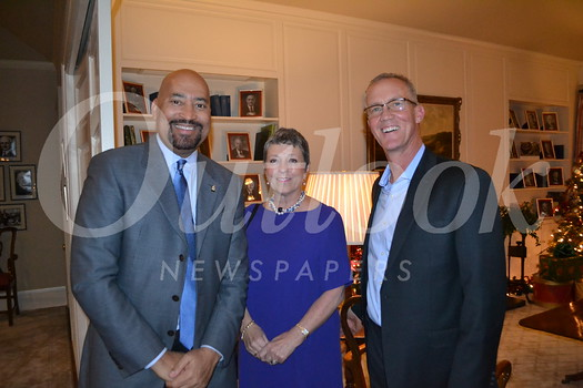 Ronald McDonald House CEO Vince Bryson, Charlotte Harrison and Geoff Johansing