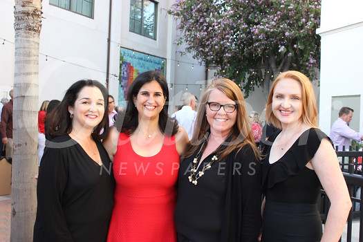 Shoshana Puccia, event co-chairs Renee Norton and Maria Campagna, and Kathleen Green