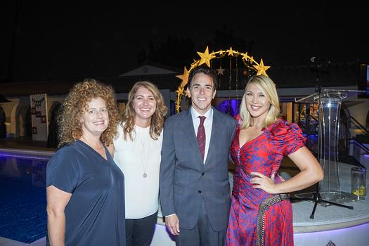 Marah Lyvers, Nancy Stiles, Steve Streit and Christina Streit