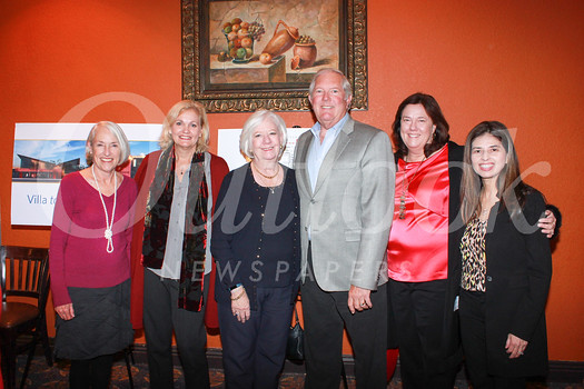 Gioia Pastre, Patty Zuber, Jayne and Kenneth Parsons, Lisa Sloan and Linda Lopez