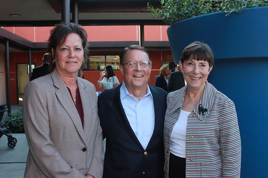 Kelly White, Jim McDermott and Cynthia Kurtz