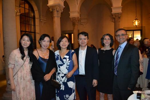 Tiffany Xu, Linda Li, Young Liu, Jeff Chang, Roshanak Shafina and Ali Hajmri