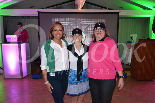 Event co-chairs Cristina Navarrete and Carrie Walker with Young & Healthy Executive Director Mary Donnelly-Crocker.