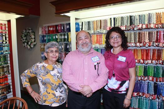Vilma Velasquez, Carlos Mendoza and Flor Quintanilla