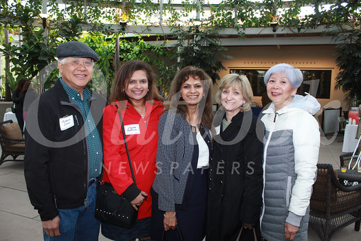 Robert Louie, Crystal Rodricks, Gail Roque, Janet Louie and Elizabeth Chikuami