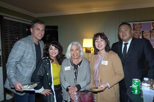 Christian Warner, Joanna Jimenez, Molly Woodford, Kaili Chang and Ed Chen