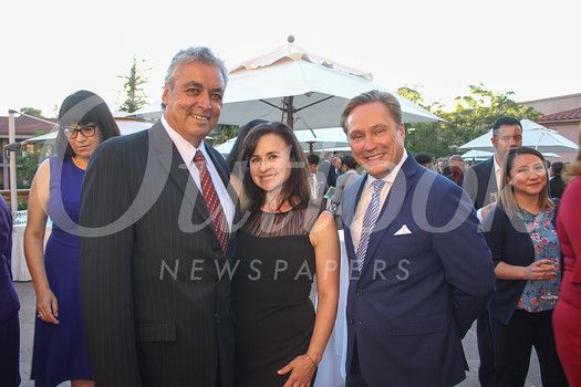 Paul Little, Hope Hayman and Paul Leclerc
