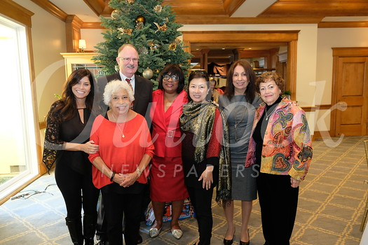 Pamela McSweeny, Molly Woodford, Carson English, Leslie Gorham Greer, Grace Chang, Barbara Campanella and Connie Olmos