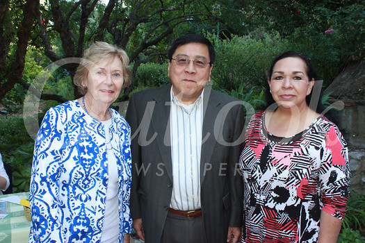 Nancy Hoffman, Philip Lao and Isabel Castro