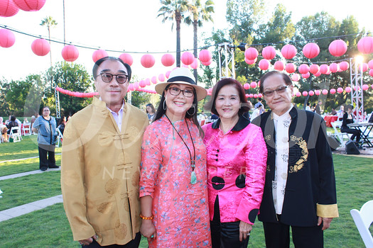 Jim and Lisa Tsai with Stela and Stephen Cheng