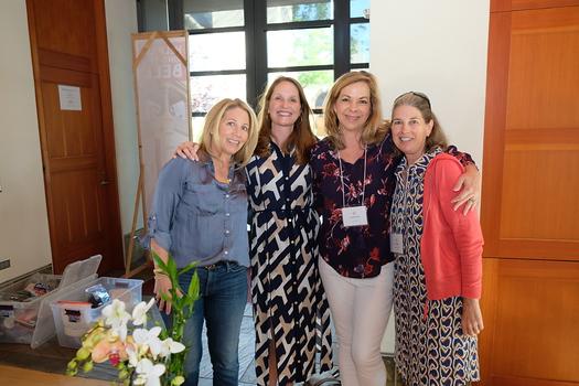 Leanne Snaer, Ann Gluck, Cynthia Ary and Ann Boutin
