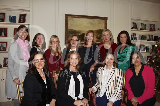 Members of the 2018 NCL San Marino Debutante Ball committee include Alex Brousseau (front row, from left), Anne Alford, Maricel de Cardenas and Christina Pink. Back: Diana Bell, Jennifer Thompson, Alison Moller, Lynette Sohl, Cynthia Ary, Laurie Modean and Una Battaglia.