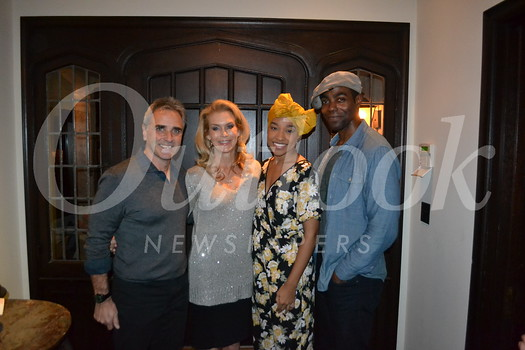 """Hosts Brad and Pam King with """"Ragtime"""" stars Bryce Charles and Clifton Duncan"""