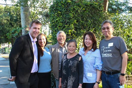 Russ and Darlene Osmonson, Isaac and Celia Hung, Luyi Khasi and Shawn Chou