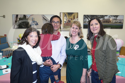 Tina Siu, James Lau, Julie Boucher and Lisette Moggio